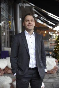 Adm. dir Harald Berger gleder seg over bedre plass, beliggenhet og tilbud på Gimle.